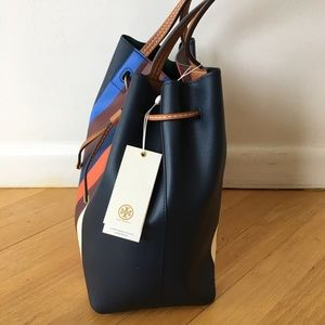 b05f5cfa5c2 Tory Burch Bags - NWT Tory Burch Authentic Kerrington Drawstring Tot